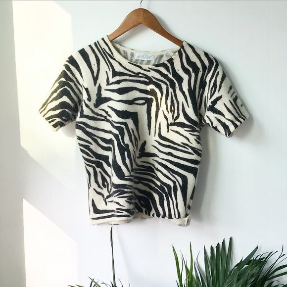Lord & Taylor Tops - Lord & Taylor zebra top
